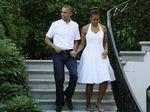 Momen-Momen Kedatangan Barack Obama Saat Tiba di Pulau Dewata