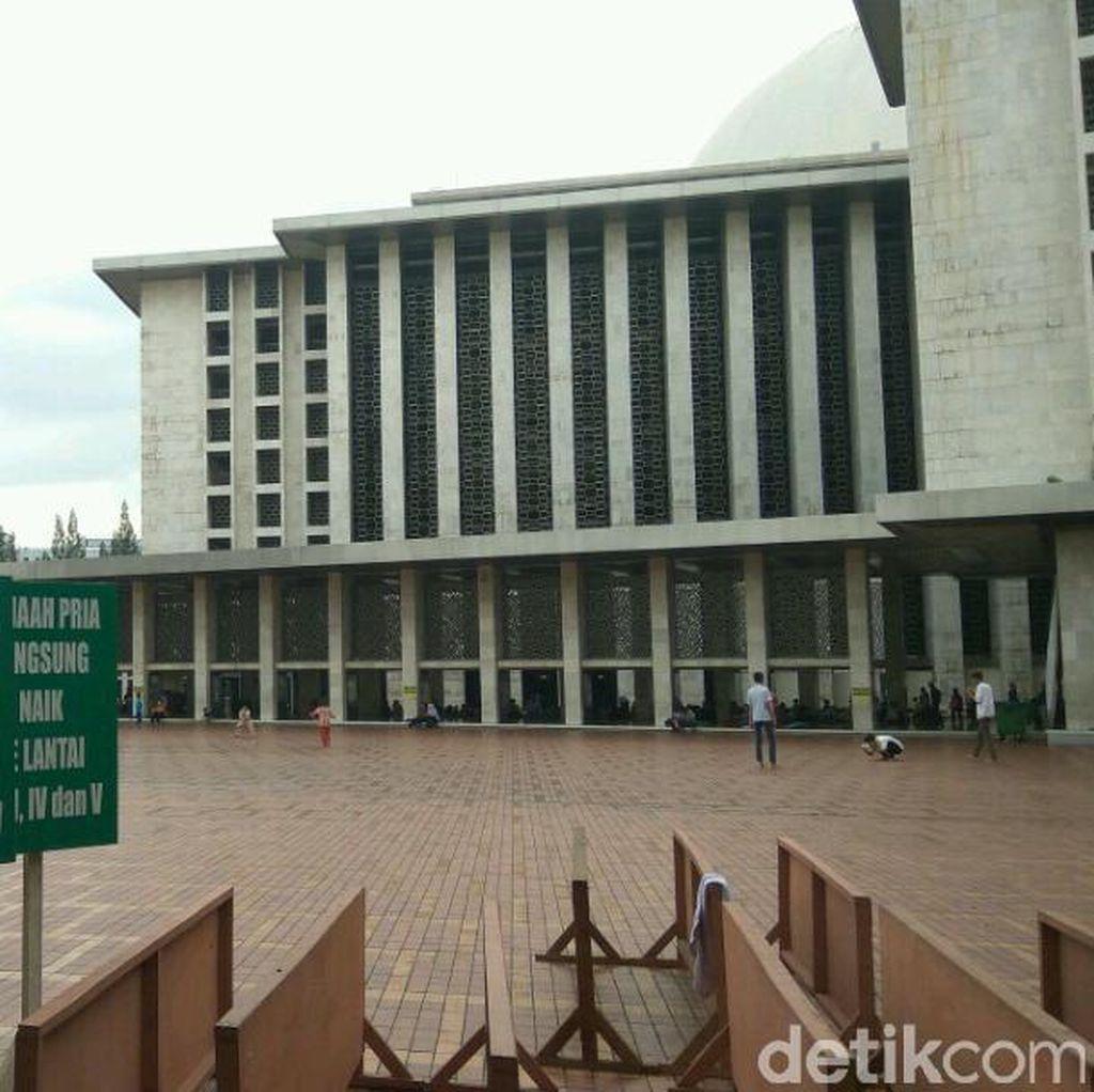 Diprediksi 150 Ribu Jemaah akan Salat Id di Masjid Istiqlal
