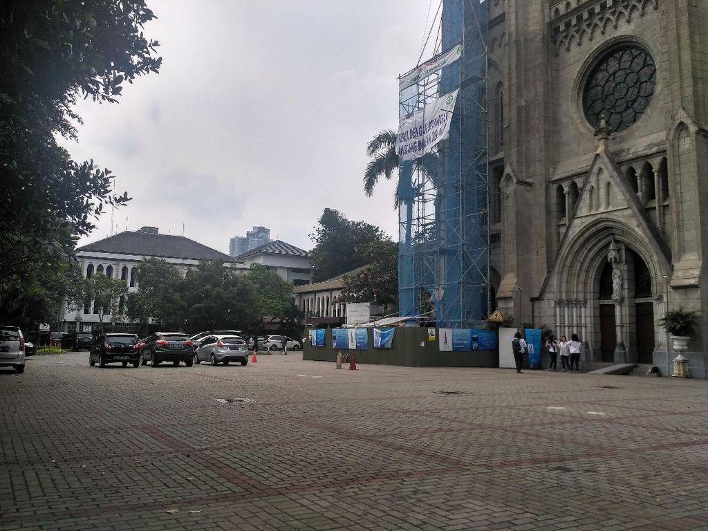 Katedral Siapkan Lahan Parkir untuk Jemaah Salat Id Istiqlal