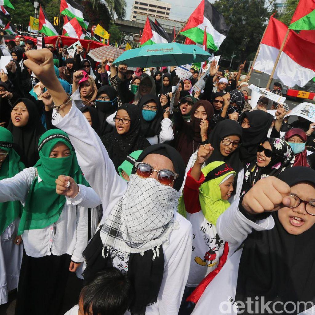 Hari Quds Sedunia, Kedubes AS Didemo
