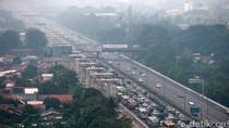 Tol Jakarta Arah Cikampek Ada Contraflow di Cikarang Utama