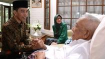 Jokowi Jenguk Solihin GP