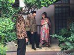 Bertemu Solihin GP, Jokowi: Saya Banyak Dapat Petuah dari Beliau