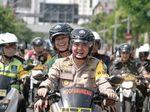 Amankan Lebaran di Surabaya, Polri dan TNI Patroli Bersama