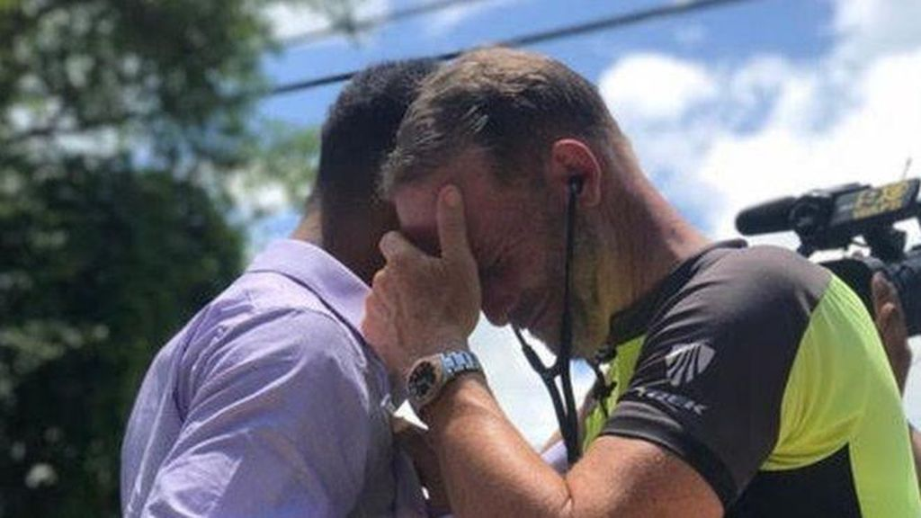 Momen Haru Ayah Bersepeda Ribuan Kilometer untuk Dengar Detak Jantung Anaknya