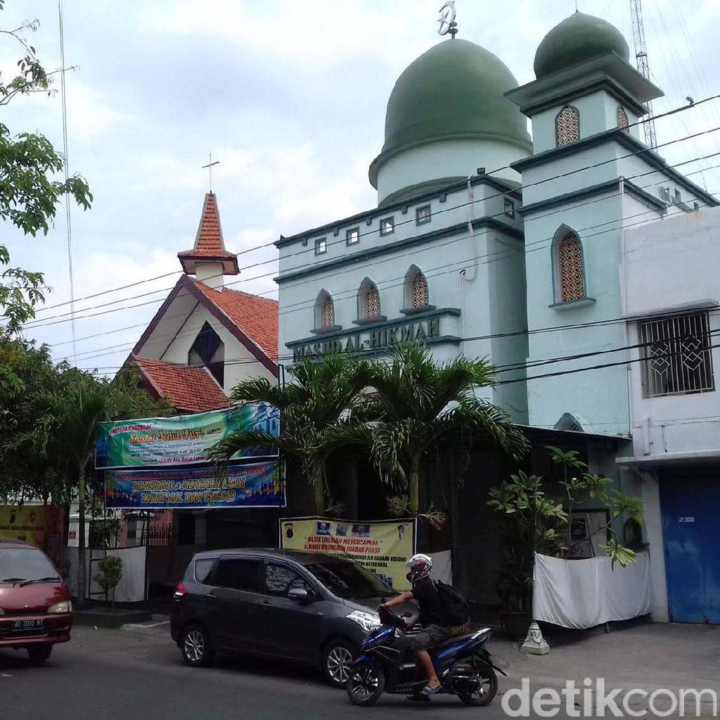 Gereja di Solo Meniadakan Kebaktian Saat Salat Idul Fitri