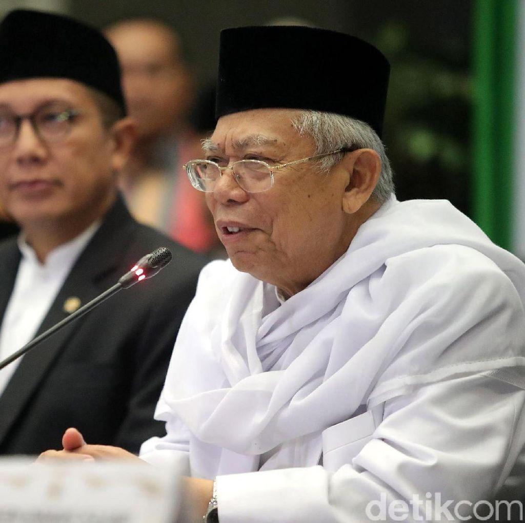 Masjid di Cipinang Muara Lebaran Senin, Ini Tanggapan Maruf Amin