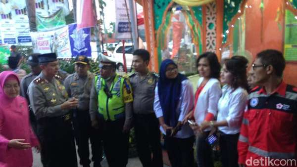 Malam Takbiran, Kapolda Sumut Tinjau Pos Pengamanan di Medan