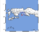Gempa 3,7 SR Guncang Masohi Maluku
