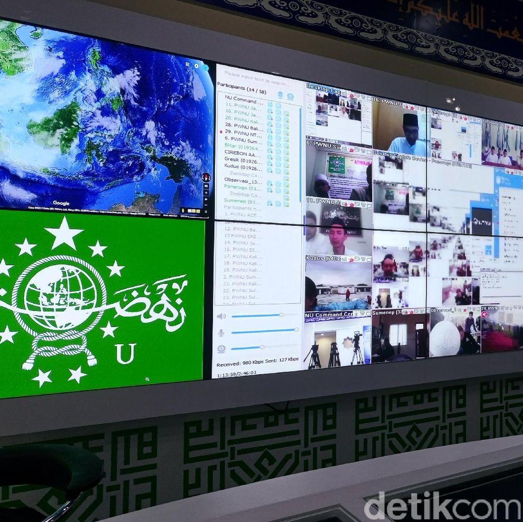 Tentukan 1 Syawal, PBNU Pantau Rukyat Lewat Video Conference