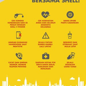 10 Tips Mudik Aman ala Shell
