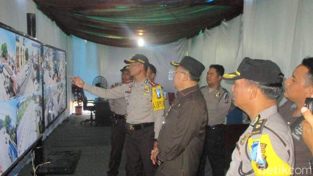 Polisi Pasang CCTV di Rest Area Sergai Sumut