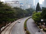 H-1 Lebaran, Jalanan Jakarta Lengang