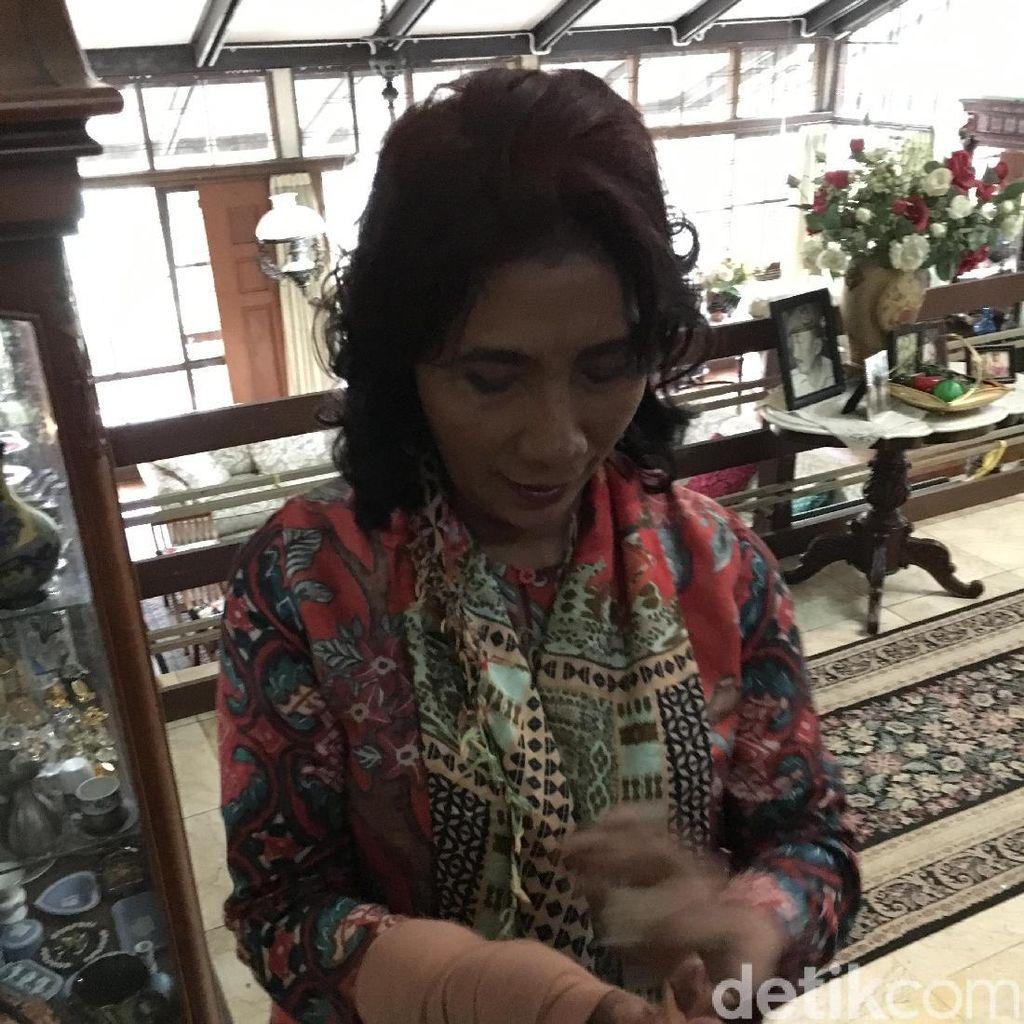 Ini Alasan Menteri Susi Ikut Jokowi Jenguk GP Solihin