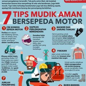 7 Tips Mudik Aman Bersepeda Motor