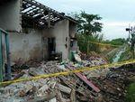 Sebuah Rumah di Jombang Terkena Ledakan, Penyewanya Kabur