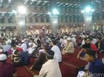 Begini Suasana Malam Takbiran di Masjid Istiqlal