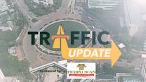 Traffic Update: Antisipasi Antrean Masuk Tol di Pasar Rebo