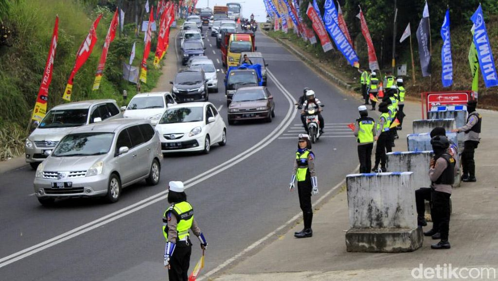 Polisi Tak Rekomendasikan Jalur Alternatif Hindari Macet Nagreg