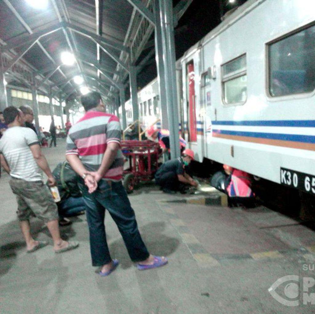 Alami Gangguan di Semarang, Perjalanan KA Kertajaya Tertunda 1 Jam