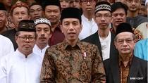 Jokowi: Selamat Hari Raya Idul Fitri 1 Syawal 1438 H
