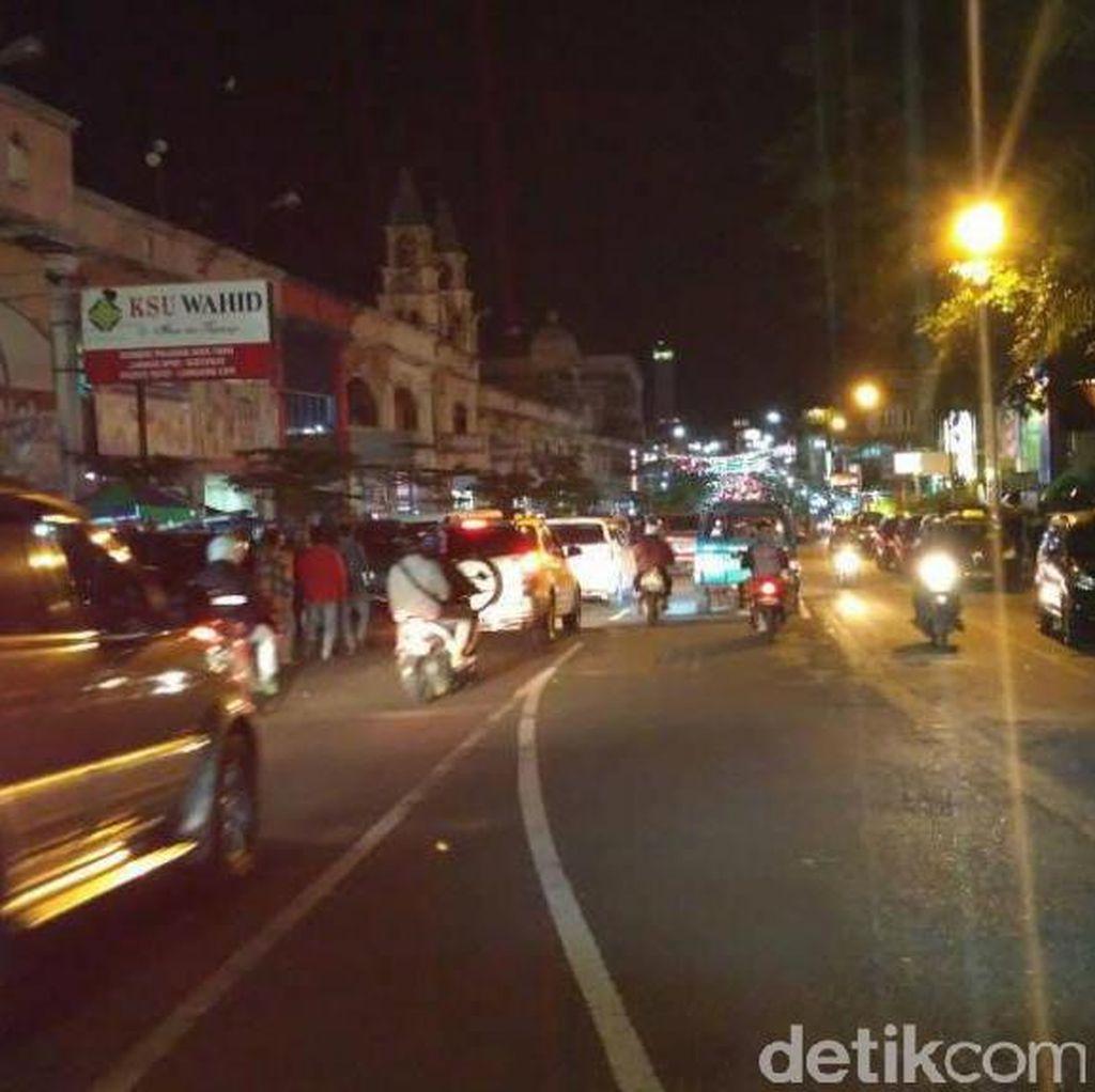 Malam Lebaran, Arus Tol dan non-Tol Semarang-Salatiga Lancar