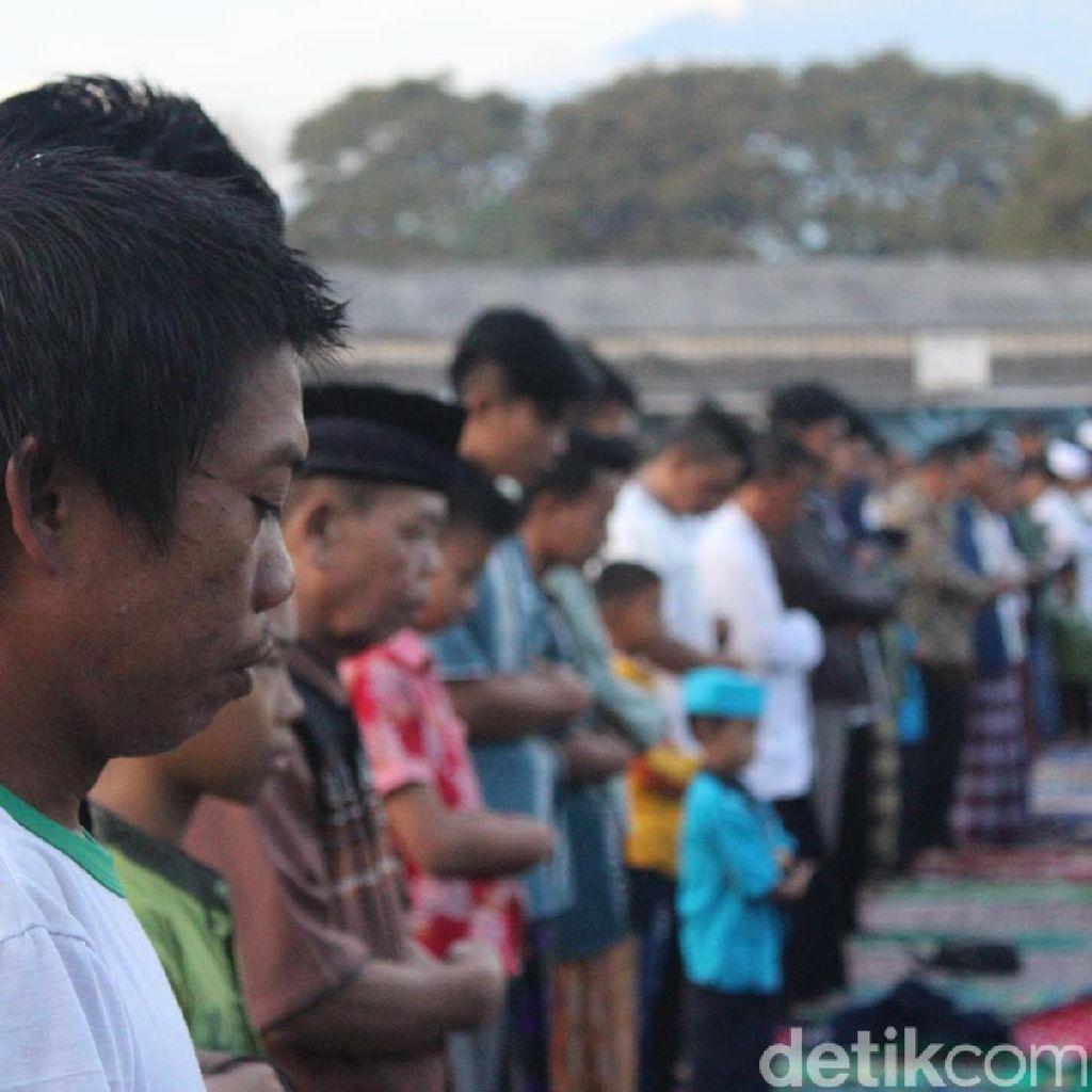 Rayakan Idul Fitri di Tempat Pengungsian, Ini Harapan Warga Garut