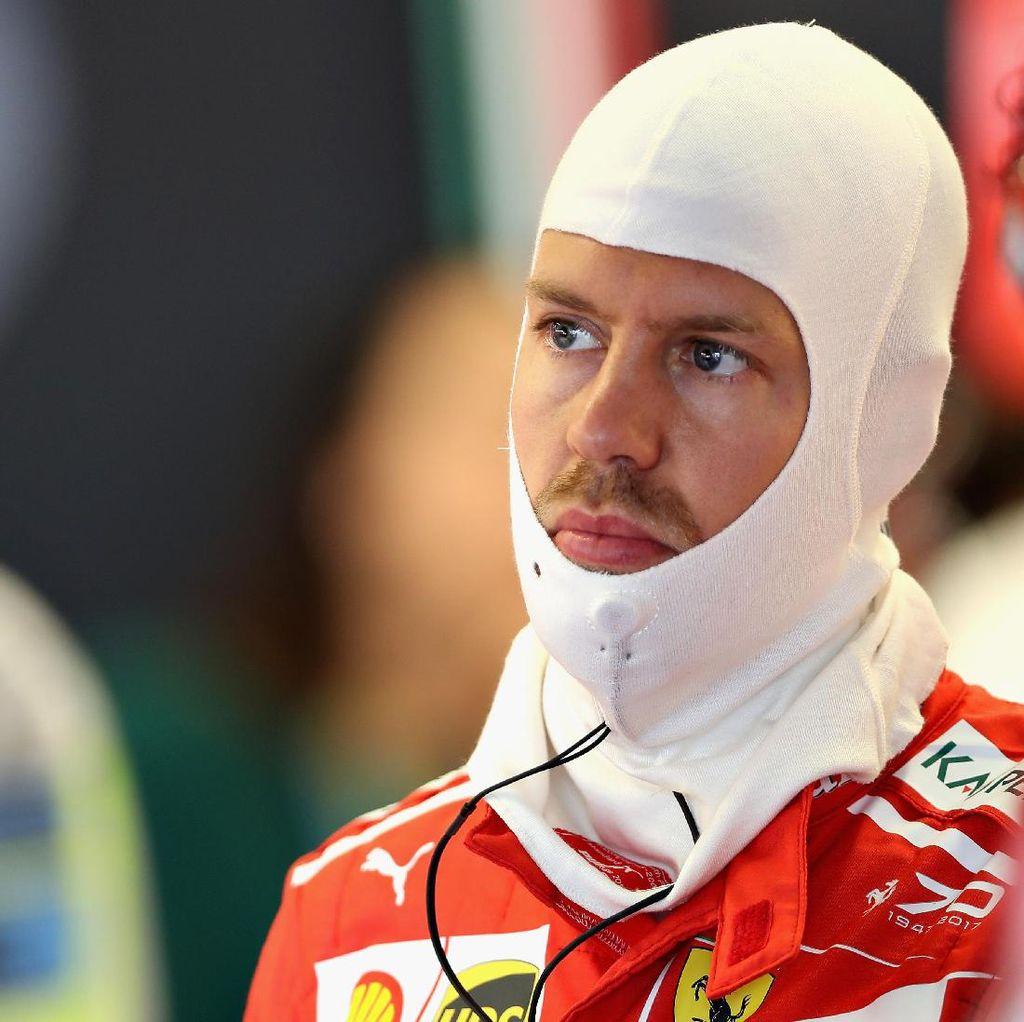 Vettel Tak Cukup Senang Start dari Posisi Empat