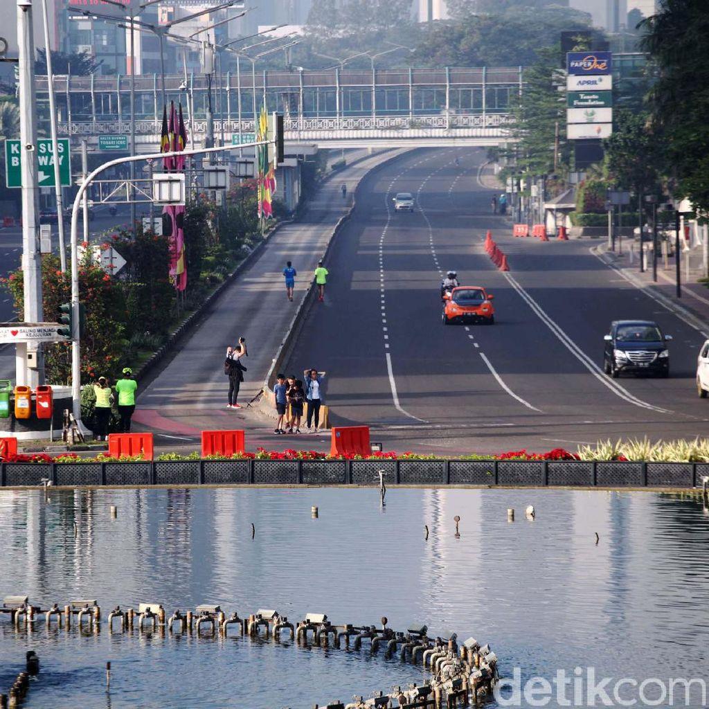 Hari Raya Idul Fitri, Car Free Day Ditiadakan