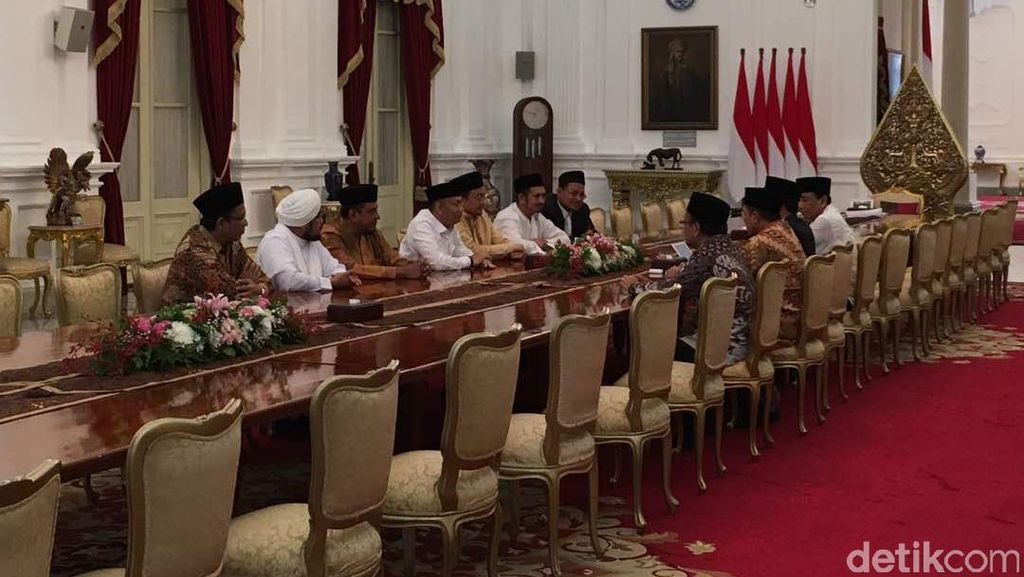 GNPF Sebut Ada Beda Pendapat soal Pertemuan dengan Jokowi