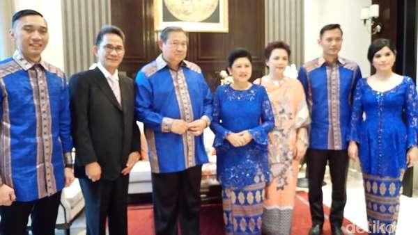 Andi Mallarangeng hingga Hatta Rajasa Datangi Open House SBY