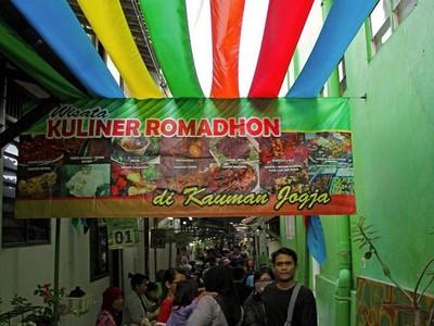 Sampai Jumpa Lagi, Pasar Ramadan di Kampung Kauman, Yogya
