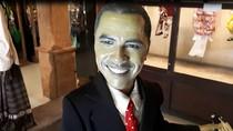 Wah, Ada Wayang Golek Obama di Museum Topeng dan Wayang Setia Darma