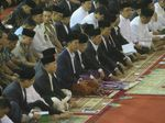 Jokowi Tunaikan Salat Id Idul Fitri 1348 H di Istiqlal