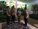 Diserbu Bos-bos BUMN Saat Open House, Rini: Enggak Wajib Datang Kok