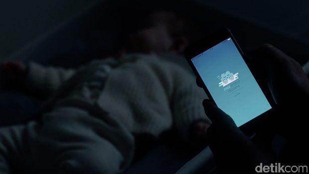 Ranjang bayi bisa diatur dengan aplikasi HP