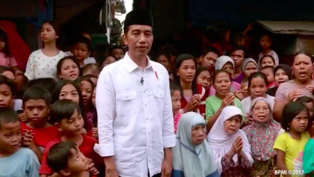 Jokowi Ucapkan Selamat Lebaran via Instagram