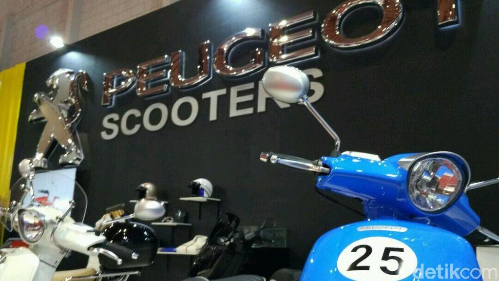 Merek Motor Tertua Hadir di Jakarta Fair