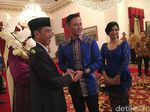 Jokowi Titip Salam Lebaran ke SBY Lewat Agus dan Ibas