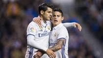 Peringatan untuk James dan Morata: Meninggalkan Madrid Berarti Penurunan