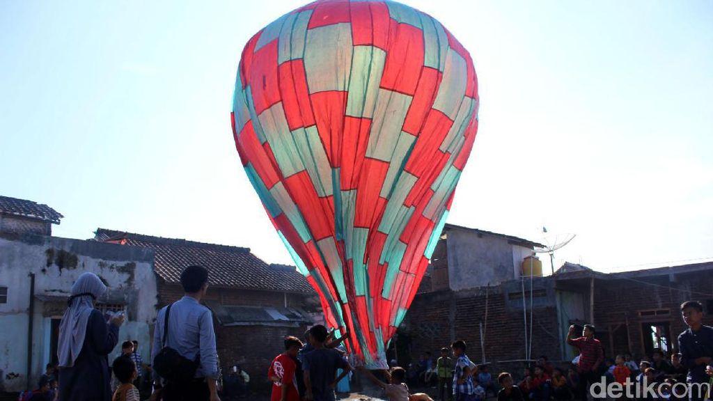 Balon Udara Membahayakan Berhamburan di Jateng, NOTAM Dikeluarkan