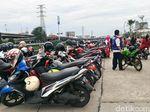 Libur Lebaran, Parkiran RPTRA Kalijodo Ramai dan Bebas Preman