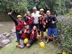 Senyum Lepas Obama Usai Rafting di Sungai Ayung Bali