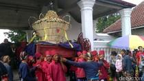 Meriahnya Rayahan Gunungan Grebeg Syawal Keraton Yogyakarta