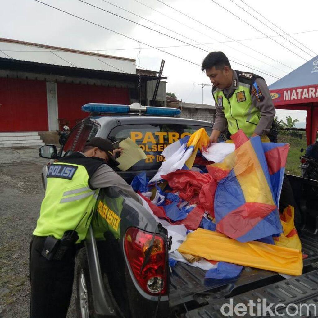 Polisi Cegah Pelepasan 3 Balon Udara yang Bahayakan Penerbangan