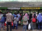 Polisi Tangkap Copet dan Pelaku Pelecehan Seksual di Ragunan