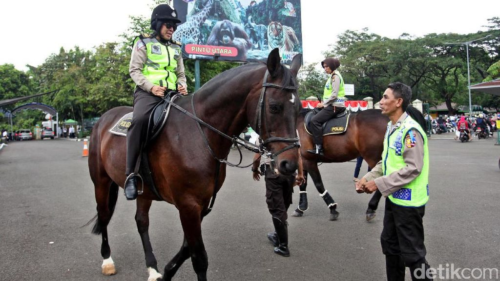 Polisi Perketat Pengamanan di Ragunan