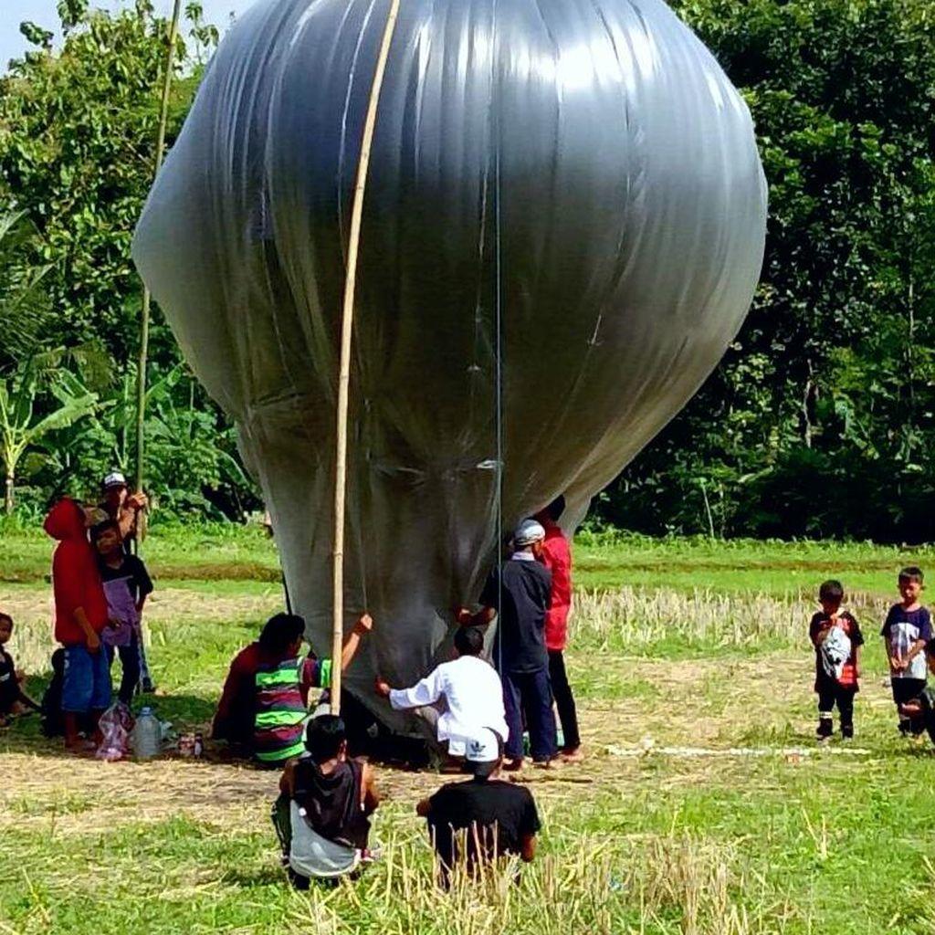Pelepasan Balon Udara Harus Berkoordinasi dengan Kemenhub dan ATC