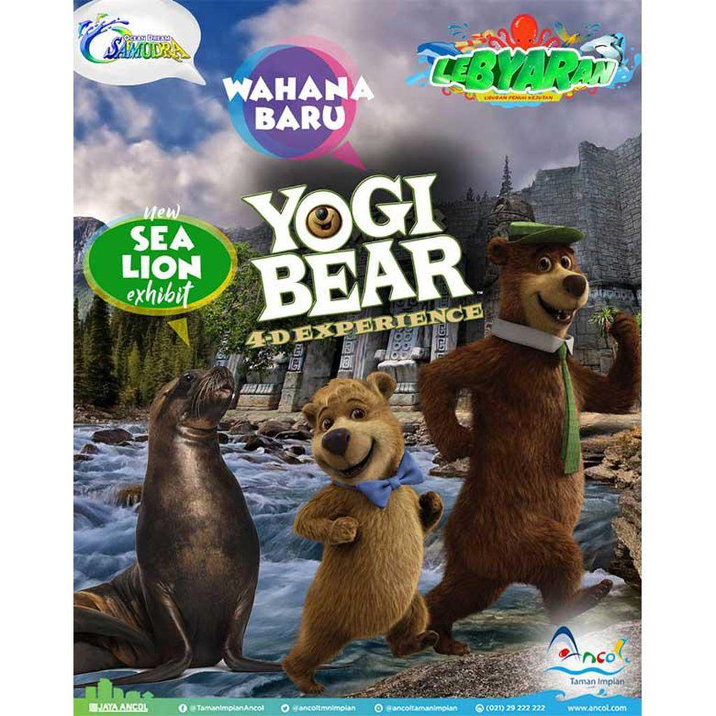 Yogi Bear dan Singa Laut Meriahkan Liburan di Ancol