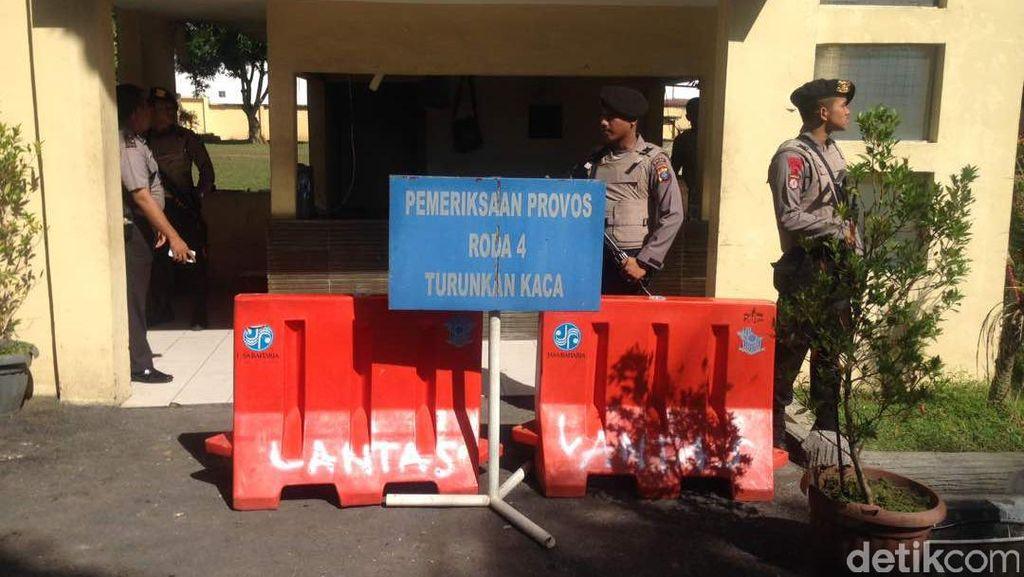 Polisi Tetapkan 3 Tersangka Teror Polda Sumut
